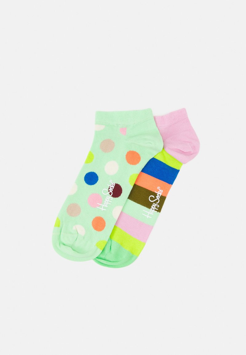 Happy Socks - BIG DOT STRIPE 2 PACK UNISEX - Socks - multi