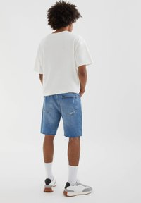 PULL&BEAR - Denim shorts - dark-blue denim - 2