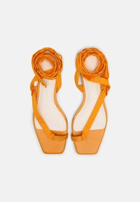 Who What Wear - BROOKE - T-bar sandals - radient yellow - 4