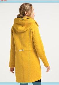 Schmuddelwedda - Short coat - curry melange - 2