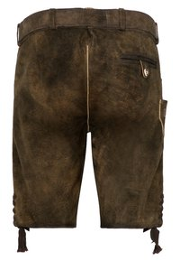 Spieth & Wensky - FC BAYERN HAVEL - Leather trousers - brown - 1