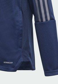 adidas Performance - TIRO 21 TRACK TOP - Verryttelytakki - blue - 5