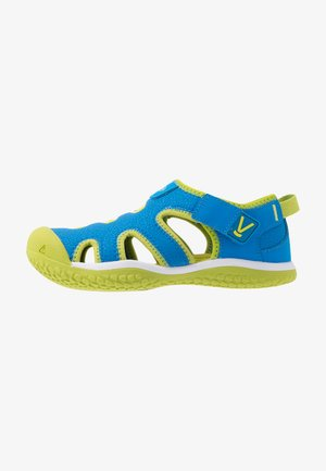 STINGRAY - Outdoorsandalen - brilliant blue/chartreuse