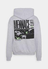 Mennace - JAPAN OVERHEAD HOODIE - Zip-up hoodie - grey - 7