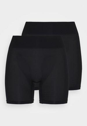 2 Pack HW seamless short - Stahovací prádlo - black