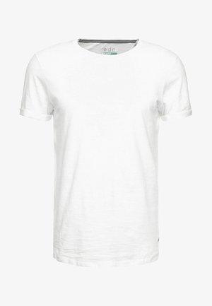 LONG TEE - Jednoduché triko - white