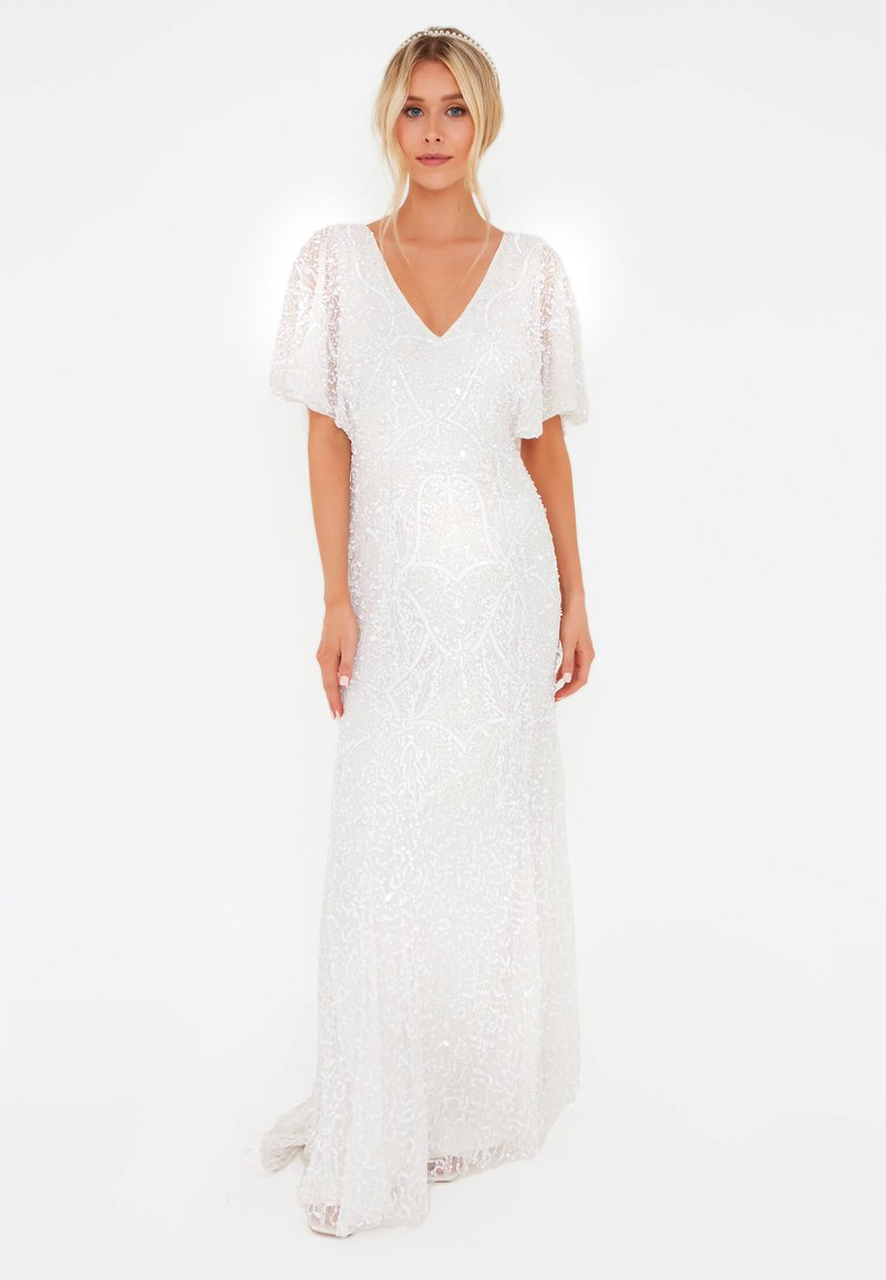 BEAUUT - EMBELLISHED SEQUINS  - Occasion wear - ivory