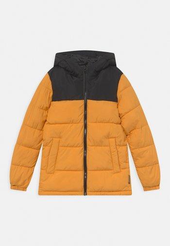 Winter jacket - golden orange