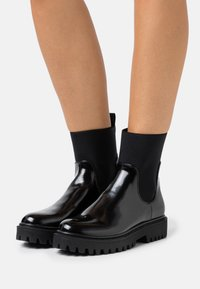 Even&Odd - Platform ankle boots - black - 0