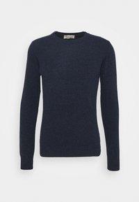 Wool & Co - GIROCOLLO BOTTONATO - Jumper - blue - 5