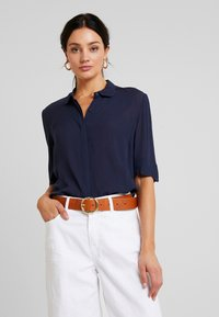 Another-Label - RONSIN - Button-down blouse - black iris - 0