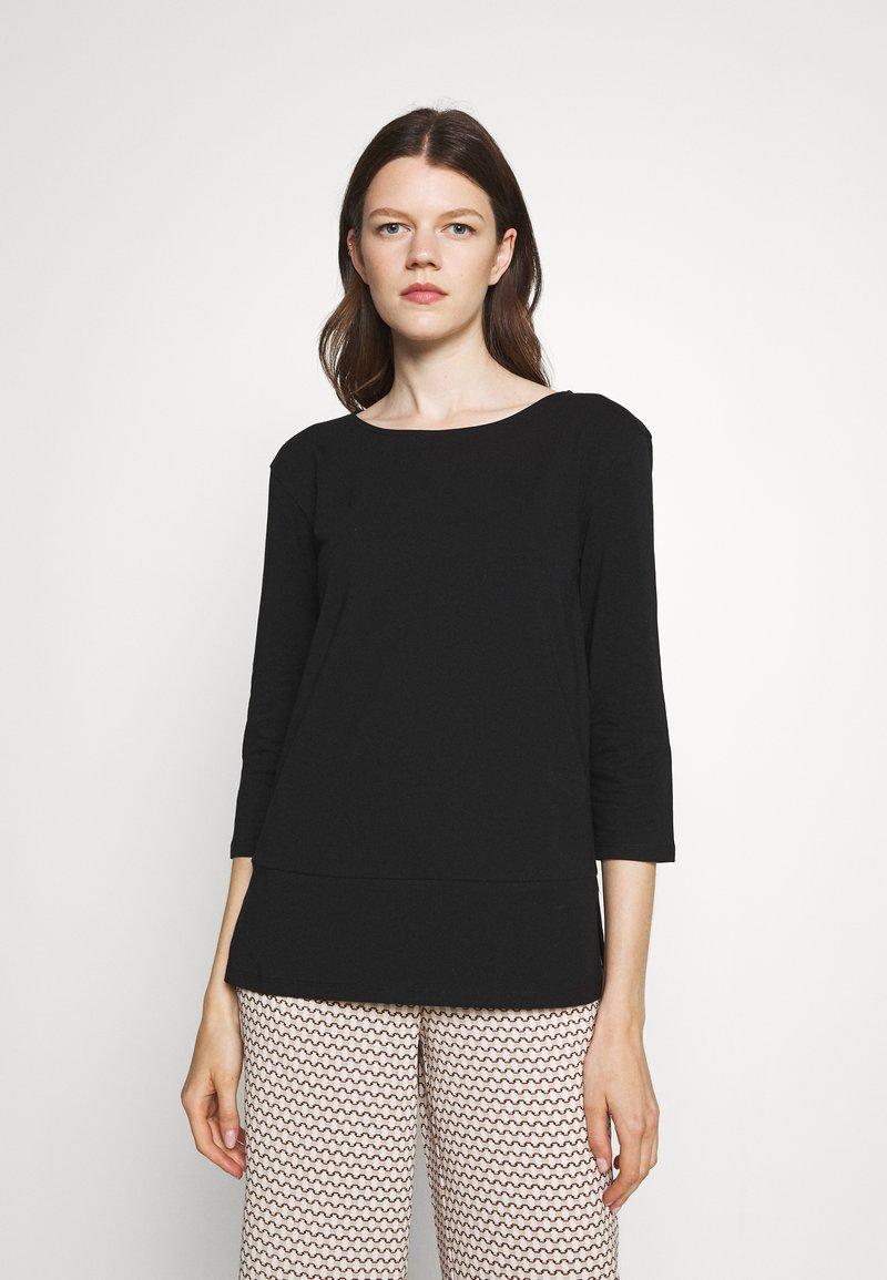 WEEKEND MaxMara - MULTIA - Long sleeved top - black