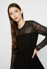 ONLY - ONLDEMI SHORT DRESS - Robe d'été - black - 3