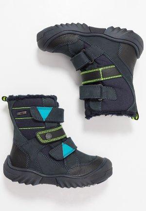 GTX - Botas para la nieve - blu scuro/nero