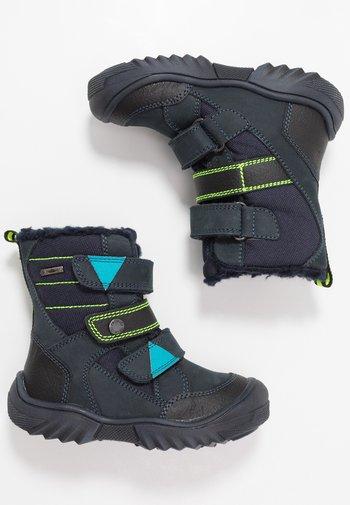 GTX - Winter boots - blu scuro/nero