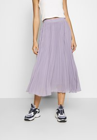 NA-KD - ANKLE LENGTH PLEATED SKIRT - A-Linien-Rock - purple - 0
