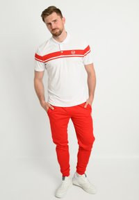 sergio tacchini - YOUNG LINE - Polo shirt - wht/red - 1
