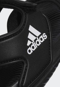 adidas Performance - ALTASWIM - Sandales de bain - black - 6