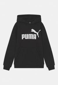 Puma - BIG LOGO HOODIE UNISEX - Bluza - puma black - 0