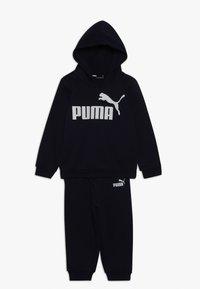 Puma - NO. 1 LOGO JOGGER - Tepláková souprava - peacoat - 0