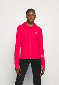 adidas Performance - Bluza rozpinana - power pink/signal pink - 0