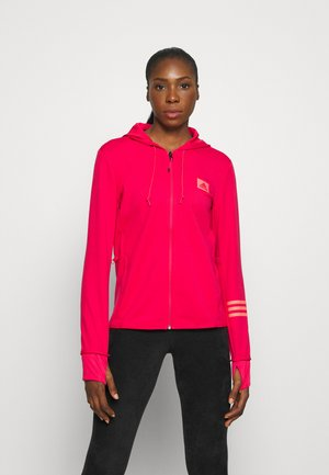 Zip-up hoodie - power pink/signal pink