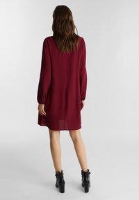 Esprit - Denní šaty - bordeaux red - 2