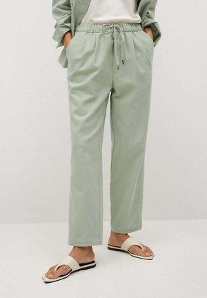 Pantalon classique - verde agua