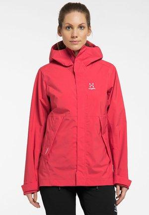 TJÄRN - Hardshell jacket - hibiscus red