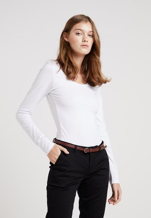 VIOFFICIEL  - Long sleeved top - optical snow