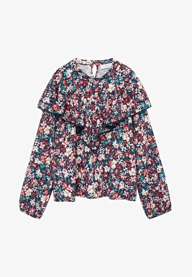 PORTOFIN - Blouse - teal/red