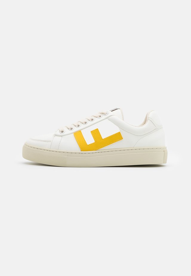 VEGAN CLASSIC 70'S KICKS - Sneakersy niskie - white/lemon/grey