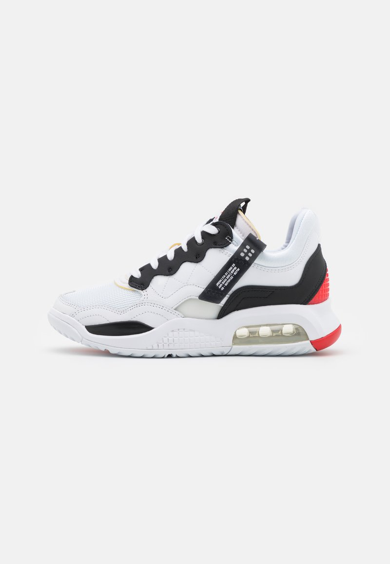 Jordan - MA2 - Trainers - white/black/university red/light smoke grey/praline