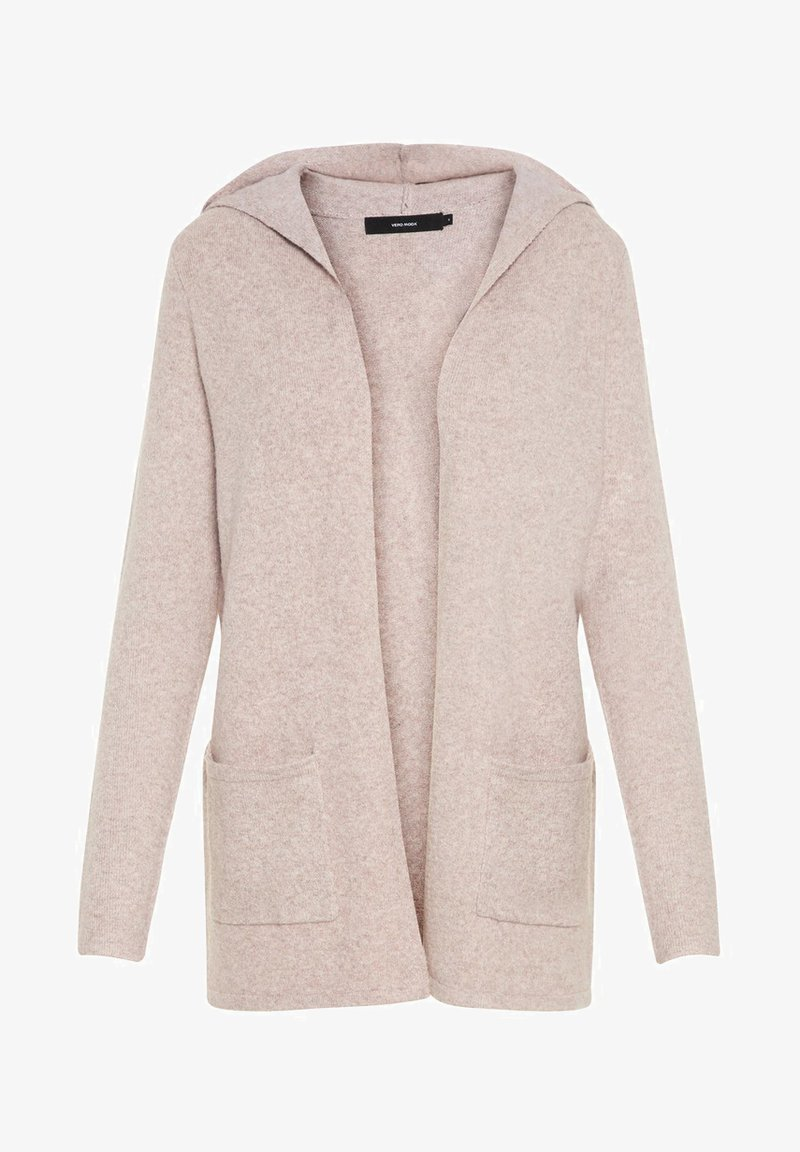 Vero Moda - VMDOFFY OPEN - Cardigan - woodrose