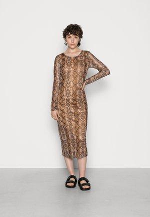 VIKATY DRESS - Cocktail dress / Party dress - tigers eye