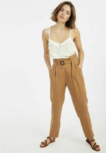 EPAPERO - Trousers - brown