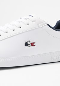 Lacoste - GRADUATE  - Trainers - white/navy/red - 2
