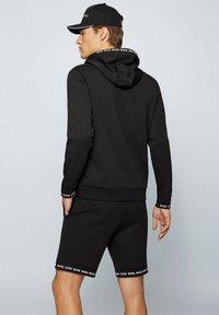 BOSS - SAGGY  - Zip-up sweatshirt - black - 2