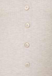 ONLY - ONLNELLA BUTTON - Cardigan - pumice stone - 2
