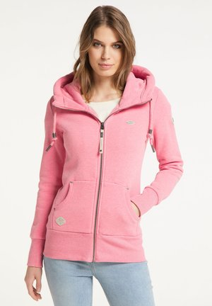 NESKA ZIP - Zip-up hoodie - pink