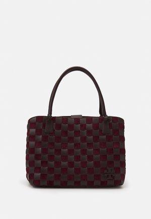 MCGRAW OVERSIZED SATCHEL - Handbag - tempranillo