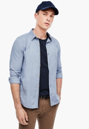 MIT MUSTERSTRUKTUR - Overhemd - light blue