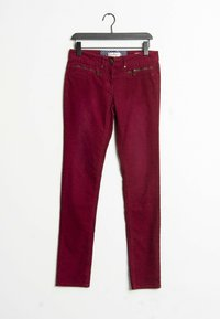 TOM TAILOR - Trousers - red - 0