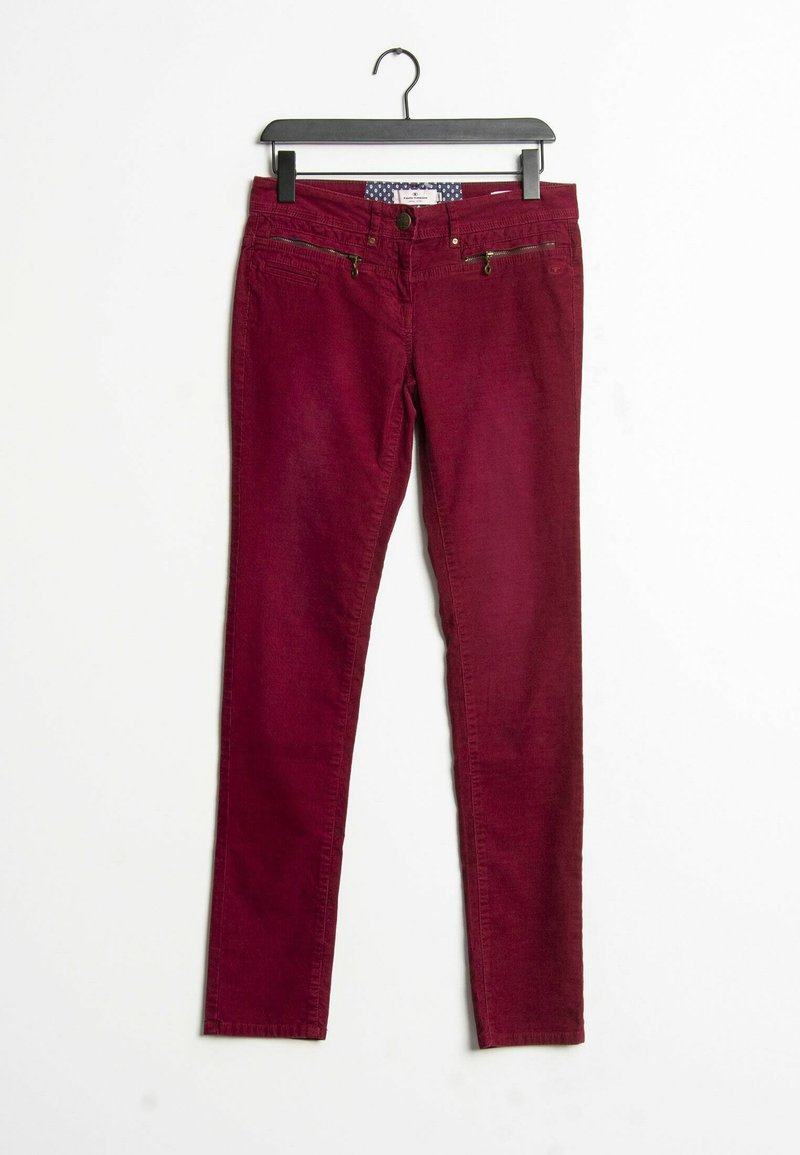 TOM TAILOR - Trousers - red