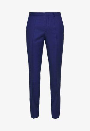 HESTEN - Suit trousers - bright blue