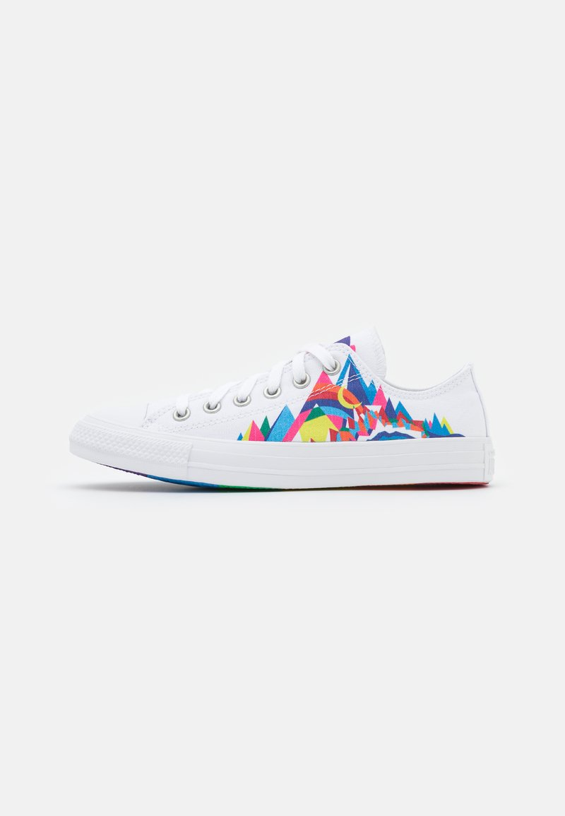 Converse - CHUCK TAYLOR ALL STAR PRIDE UNISEX - Trainers - white/multicolor