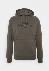 Peak Performance - ORIGINAL HOOD - Sweatshirt - black olive - 0
