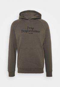 Peak Performance - ORIGINAL HOOD - Felpa - black olive - 0