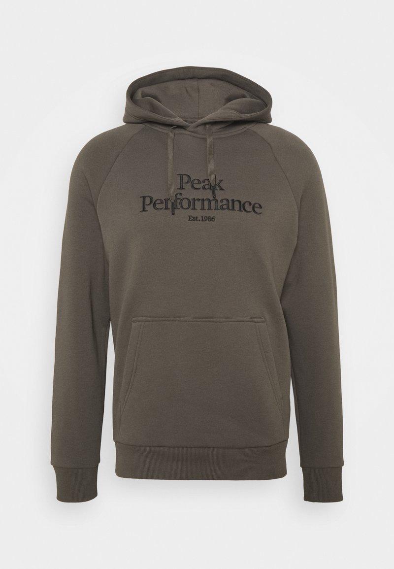 Peak Performance - ORIGINAL HOOD - Felpa - black olive