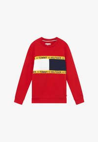 Tommy Hilfiger - FLAG CREW  - Mikina - red - 2